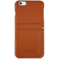 Tassen Telefoontassen Decoded iPhone 6/6S Plus Leather Back Cover Bruin