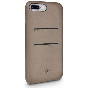 Tassen Telefoontassen Twelve South Relaxed Leather Case Pockets iPhone 8 Plus / 7 Plus Warm Beige