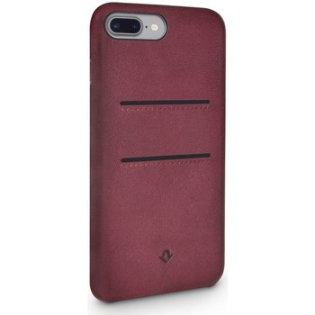 Tassen Telefoontassen Twelve South Relaxed Leather Case Pockets iPhone 8 Plus / 7 Plus Marsala