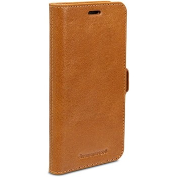Tassen Telefoontassen Dbramante1928 Lynge Leather Wallet iPhone XS Max Tan