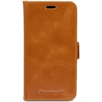 Tassen Telefoontassen Dbramante1928 Lynge Leather Wallet iPhone XR Tan