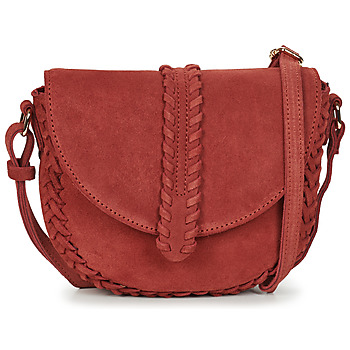 Tassen Dames Schoudertassen met riem Betty London ODIN Terracotta