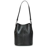 Tassen Dames Handtassen kort hengsel Betty London OSSO Zwart