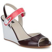 Schoenen Dames Sandalen / Open schoenen Marc Jacobs VOGUE GOAT Bordeau / Roze
