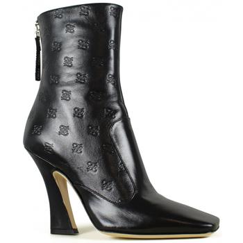 Schoenen Dames Laarzen Vintage  Zwart