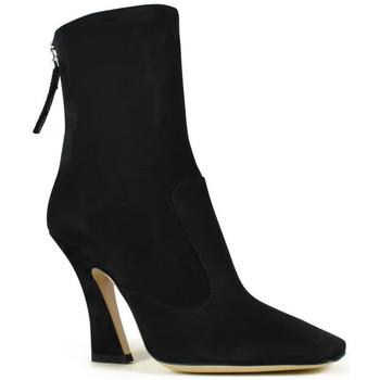 Schoenen Dames Enkellaarzen Vintage  Zwart