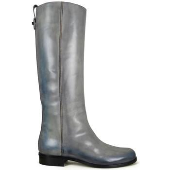 Schoenen Dames Laarzen Vintage  Grijs