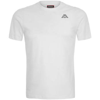 Textiel Heren T-shirts korte mouwen Kappa  Wit