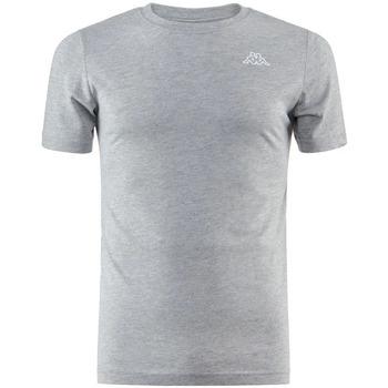 Textiel Heren T-shirts korte mouwen Kappa  Grijs