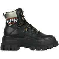 Schoenen Dames Laarzen Buffalo Aspha Nc Fur Zwart
