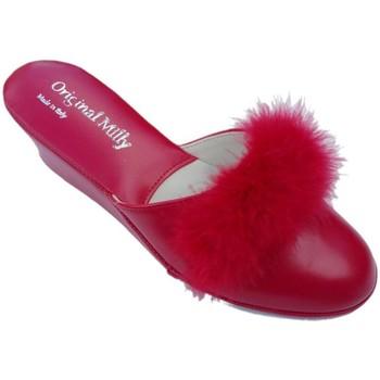 Schoenen Dames Leren slippers Milly MILLYCIGNOros5 rosso