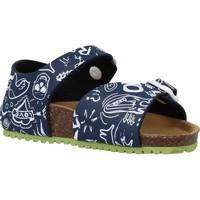 Schoenen Jongens Sandalen / Open schoenen Garvalin 202476 Blauw