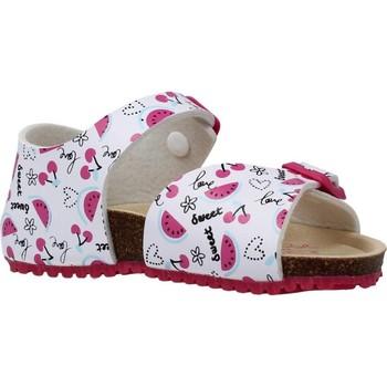 Schoenen Meisjes Sandalen / Open schoenen Garvalin 202660 Wit