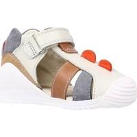 Schoenen Jongens Sandalen / Open schoenen Biomecanics 202147 Grijs