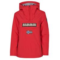 Textiel Dames Parka jassen Napapijri RAINFOREST WINTER Rood