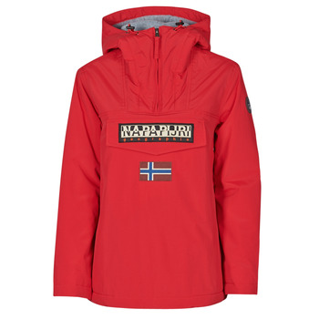 Textiel Dames Parka jassen Napapijri RAINFOREST WINTER Rood
