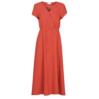 Textiel Dames Lange jurken Betty London ODAME Terracotta