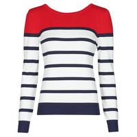 Textiel Dames Truien Betty London ORALI Rood / Ecru
