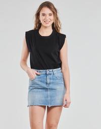 Textiel Dames Tops / Blousjes Yurban OPOULI Zwart