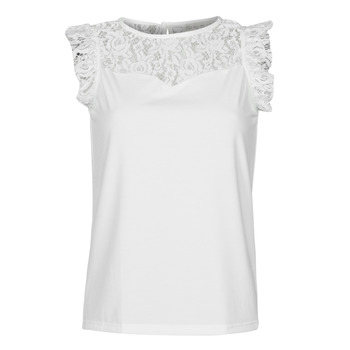 Textiel Dames Tops / Blousjes Moony Mood OTTIA Wit