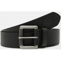Accessoires Heren Riemen Dickies South shore leather belt Zwart