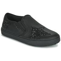 Schoenen Meisjes Lage sneakers Geox J KALISPERA FILLE Zwart