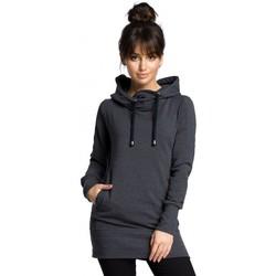 Textiel Dames Sweaters / Sweatshirts Be B072 Lange trui - grafiet