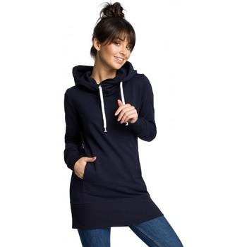 Textiel Dames Sweaters / Sweatshirts Be B072 Lange trui - marineblauw