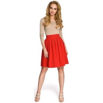 Textiel Dames Rokken Moe M237 Rok - rood