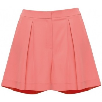 Textiel Dames Korte broeken / Bermuda's Makover K049 Ontspannen shorts - oranje