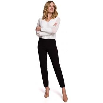 Textiel Dames Chino's Makover K055 Slanke broekspijpen - zwart