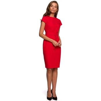 Textiel Dames Korte jurken Style S240 Wikkeljurk - zwart