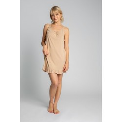 Textiel Dames Pyjama's / nachthemden Lalupa LA031 Viscose Chemise - cappuccino