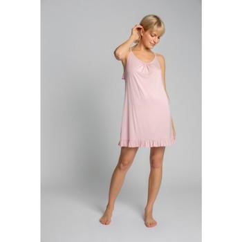 Textiel Dames Pyjama's / nachthemden Lalupa LA031 Viscose Chemise - roze