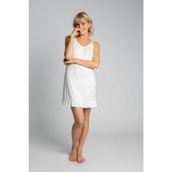 Textiel Dames Pyjama's / nachthemden Lalupa LA031 Viscose Chemise - ecru