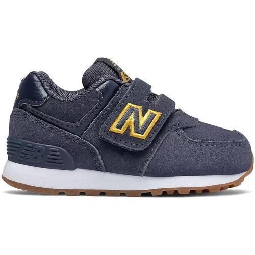 Schoenen Kinderen Lage sneakers New Balance 574 PNY Blauw