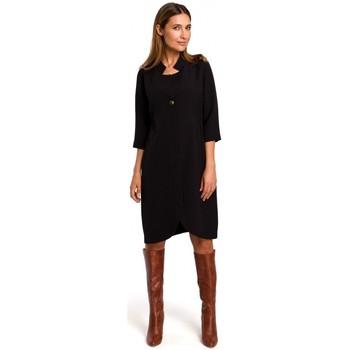 Textiel Dames Korte jurken Style S189 Blazerjurk - zwart