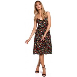 Textiel Dames Jurken Moe M518 Spaghettiband a-lijn jurk - model 6