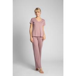 Textiel Dames Tops / Blousjes Lalupa LA014 Katoenen V-hals top - heather