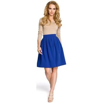 Textiel Dames Rokken Moe M237 Rok - koningsblauw