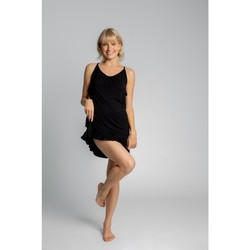 Textiel Dames Pyjama's / nachthemden Lalupa LA031 Viscose Chemise - zwart