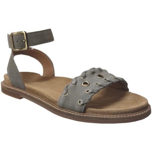 Schoenen Dames Sandalen / Open schoenen Clarks Corsio amelia Fluweelgrijs