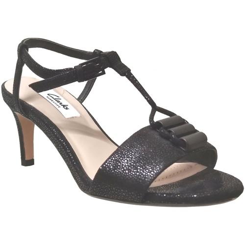 Schoenen Dames Sandalen / Open schoenen Clarks Amali ella Zwart