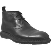 Schoenen Heren Laarzen Clarks Kenley mid gtx Zwart leer