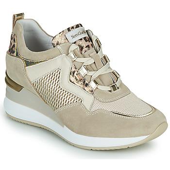 Schoenen Dames Lage sneakers NeroGiardini DARKO Beige
