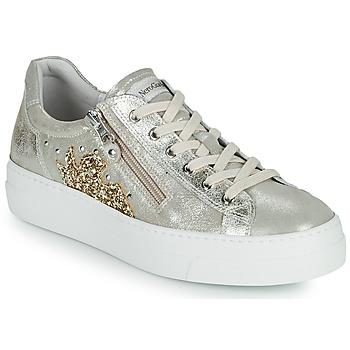 Schoenen Dames Lage sneakers NeroGiardini EDDY Goud