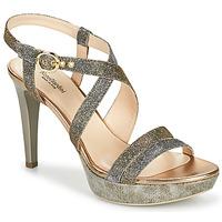 Schoenen Dames Sandalen / Open schoenen NeroGiardini KARKI Grijs / Goud