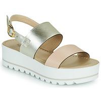 Schoenen Dames Sandalen / Open schoenen NeroGiardini SABRI Wit / Goud