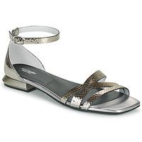 Schoenen Dames Sandalen / Open schoenen NeroGiardini TOMMA Zilver