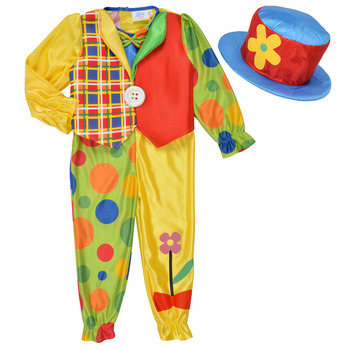 Textiel Kinderen Verkleedkleding Fun Costumes COSTUME ENFANT COOKIE CLOWN Multicolour